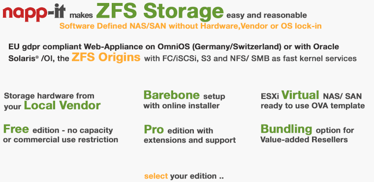 napp-it // webbased ZFS NAS/SAN appliance for OmniOS